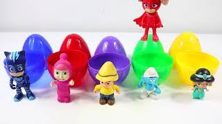 Sürpriz Yumurtalardan Çıkan Karakterleri Eşleştirme Oyunu