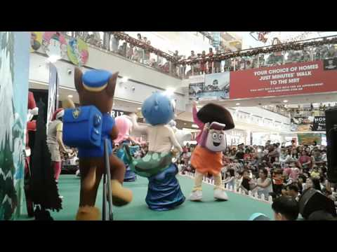 City Square Mall Nick JR Dora Expoler Stage Singapore and Monday 5 December 2016 Singapore