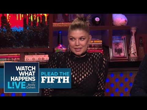 Fergie On Josh Duhamel, Mario Lopez And Justin Timberlake | Plead The Fifth | WWHL