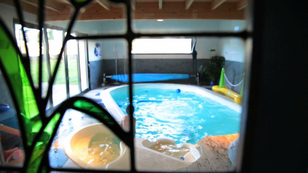 G te de guernevez piscine int rieure finist re pays for Gite piscine interieure