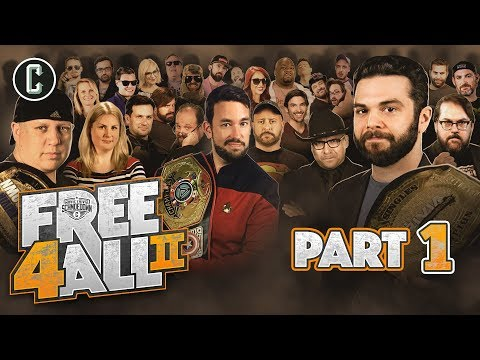 FREE 4 ALL II (Part 1) - 48 Competitors!! - Movie Trivia Schmoedown