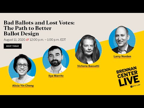 Bad Ballots And Lost Votes: The Path To Better Ballot Design