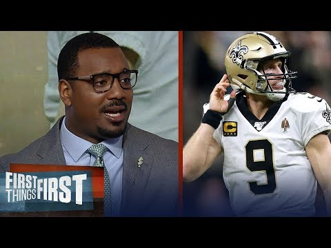 Drew Brees has enough in the tank to make Saints contenders — Chris Canty   NFL   FIRST THINGS FIRST