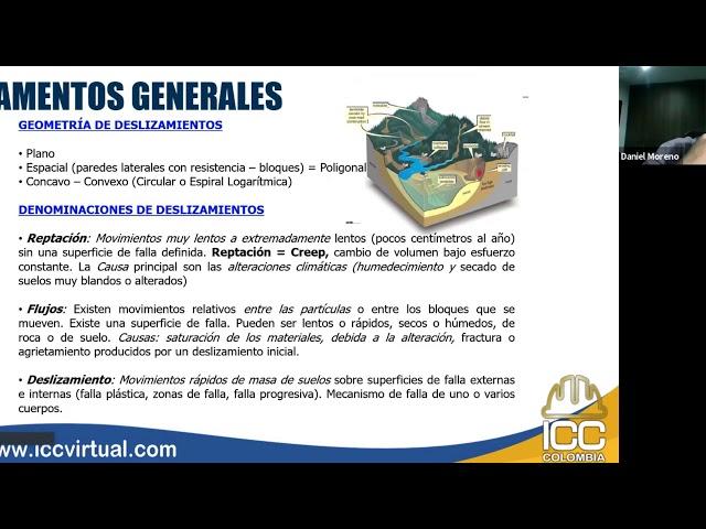 20201103 Estabilidad de Taludes 1A • C1 | Ing. Daniel Moreno