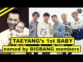 Capture de la vidéo 🅰🆃🅼 Taeyang's 1St Baby Named By Bigbang Members Themselves || Dope Baby Names, Congratz!