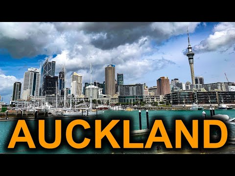 Auckland New Zealand Travel Tour 4K
