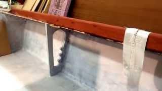 Boat Building Progress - Seating And Trim Member Fairing