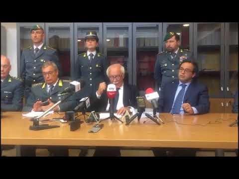 Arrestato governatore Basilicata, la conferenza stampa del procuratore di Matera
