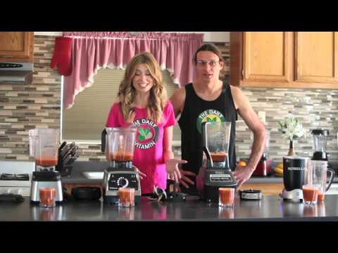 Juicing - Carrots - Blend Off. Blendtec vs Vitamix - Nutribullet vs Ninja. Blender - Recipes.