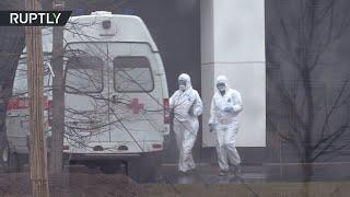 В Новой Москве открыли больницу для пациентов с подозрением на коронавирус
