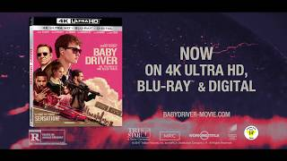 "BABY DRIVER: Now on 4K Ultra HD & Blu-ray! ""Fast & Fresh"" TV Spot"
