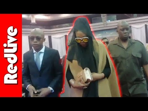 Lerato Sengadi Arrives at HHP Funeral