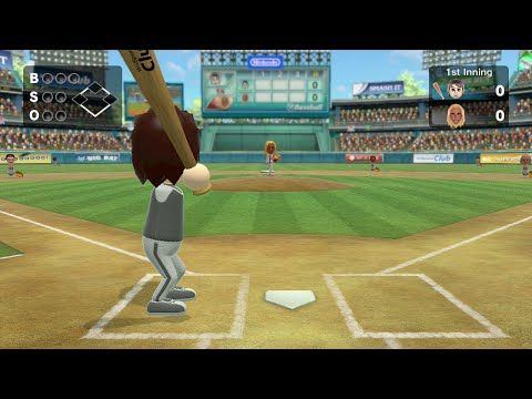 Wii Sports Club - Baseball Champion Match - Enrique