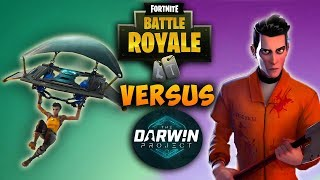 Fortnite Battle Royale VS. The Darwin Project | How Good Is The Darwin Project