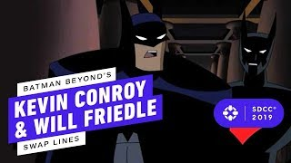 Batman Beyond's Tim Conroy and Will Friedle SWAP Lines - Comic Con 2019
