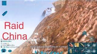 ( Mon ster ) tập kích cơ sở của người Trung Quốc.[ARK Mobile]
