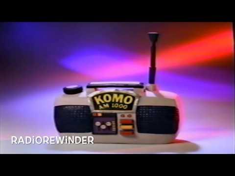 KOMO Seattle 1986 TV Spot RadioRewinder