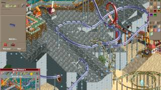 Rollercoaster Tycoon Loopy Landscapes #22 (Volcania: Four down, one to go)
