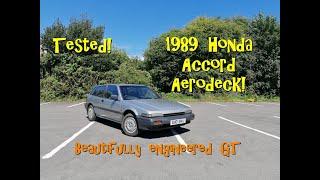 Tested!  1989 Honda Accord Aerodeck - Beautifully Engineered GT