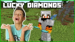 LUCKY DAY FINDING DIAMONDS!!!