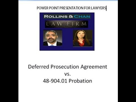 Deferred Prosecution Agreement in DC