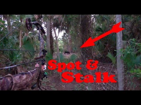 Archery Hog Hunt! Spot N Stalk, Skin It, Cook It And Eat It!!! Wild Pulled Pork!