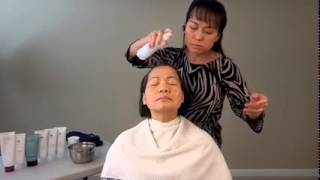 Refreshing Mask for Nails Salons demo by Thuy Pham