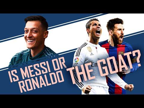 Who is the GOAT? Messi, Ronaldo, Neymar or Lewandowski? | World Cup of Everything with Mesut Ozil