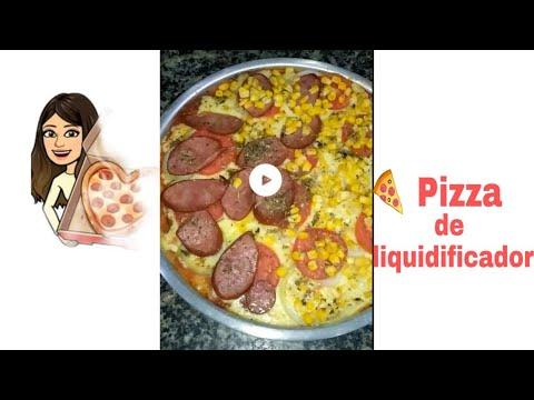 Pizza de liquidificador  Angélica Gondim