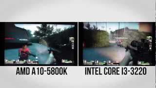 AMD Trinity A10-5800K Piledriver APU vs Intel Core i3 Ivy Bridge - HotHardware