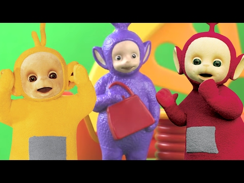 Teletubbies: Play Hide & Seek | Toy Play Video | Play games with Teletubbies