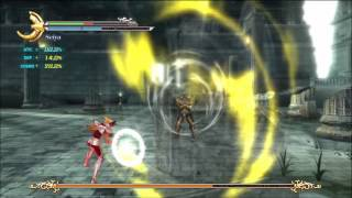 #2 PS3 Saint Seiya Sanctuary Battle vs Taurus Part 2.  English HD