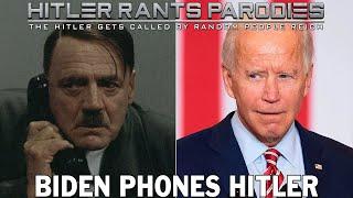 Biden phones Hitler