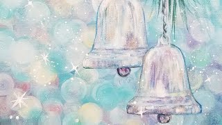 Silver Bells Christmas Acrylic Painting LIVE Tutorial