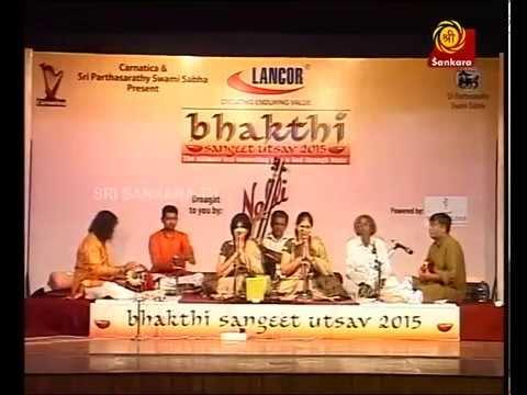 Carnatic Music Concert   Priya Sisters   Bhakthi Sangeeth Utsav 2015 l Carnaticworld