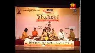 Carnatic Music Concert | Priya Sisters | Bhakthi Sangeeth Utsav 2015 l Carnaticworld
