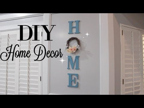 DIY HOME DECOR | CHEAP & EASY | DOLLAR TREE