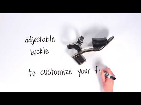 Video for Bianca Quarter Strap Sandal this will open in a new window