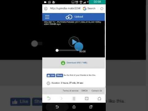 How to download movie with uc browser app...