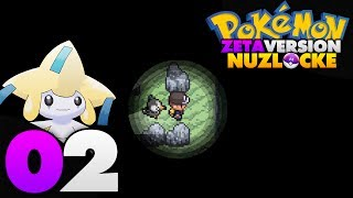 Pokémon Zeta Nuzlocke - Episode 02 | A Rocky Start