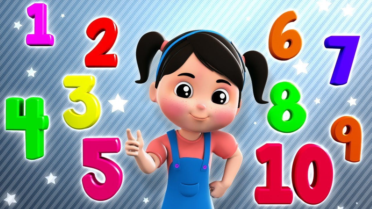 Numbers Song | Learn To Count | 1 - 10 | Kids Songs And Cartoons by Farmees