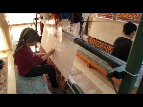 CAN Carpet rug weaving Izmir Turkey