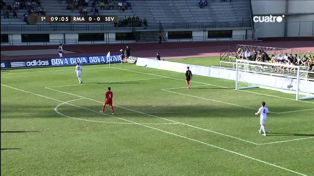 5be3b34869f Torneo de arona alevin futbol 7 Real MAdrid - Sevilla 1º parte.avi ...
