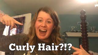 VLOGMAS Day 12: Curly Hair?!?
