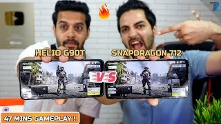 Redmi Note 8 Pro (MEDIATEK Helio G90T) vs Realme 5 Pro (SD 712) Intense Gameplay & Heat Test !