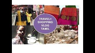TRAVEL + BIRTHDAY SHOPPING VLOG| COIMBATORE | TAMIL | deepstamilkitchen