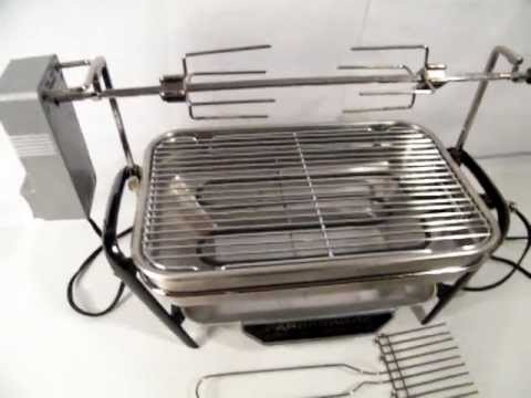 FARBERWARE OPEN HEARTH INDOOR ROTISSERIE / BROILER / GRILL
