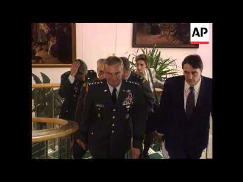 Bosnia/Croatia - Atrocities/Refugees/Shalikashvili
