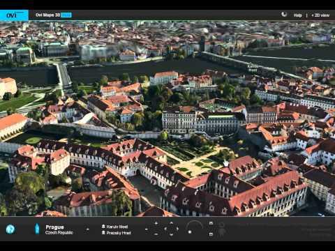 Ovi Maps 3D beta, overview