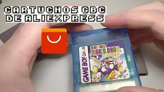 Cartuchos de Game Boy Color en AliExpress ¿Merecen la pena?